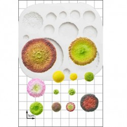 Flower Centres, silikonform (FPC)