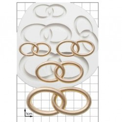 Wedding Rings, silikonform (FPC)