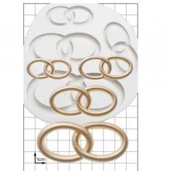 Wedding Rings, silikonform (FPC)