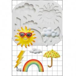 Weather, silikonform