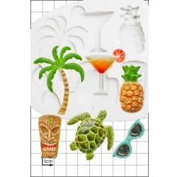 Tropical, silikonform