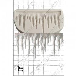 Istappar, silikonform