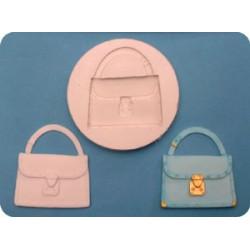 Handväska (2), silikonform