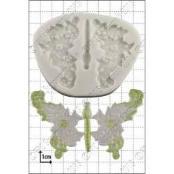 Spetsfjärilar, silikonform (C034)