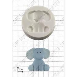 Elefant, silikonform