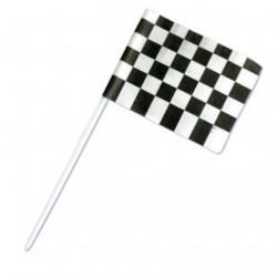 Rallyflagga, 6 st muffinsflaggor