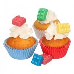 Legobitar i sockerpasta, 8 st