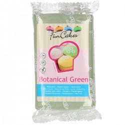 Grön sockerpasta m vaniljsmak, 250g (Botanical Green)