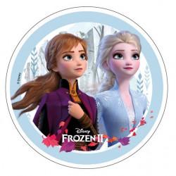 Frozen - Elsa och Anna, oblatbild