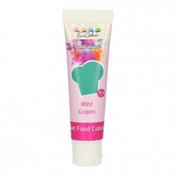 Grön pastafärg på tub (Mint Green - FC)