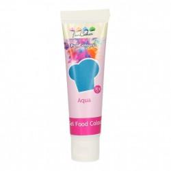 Blå pastafärg på tub (Aqua - FC)