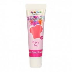 Poppy Red, pastafärg på tub (FC)