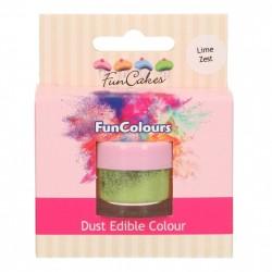 Lime Zest, pulverfärg (FC)