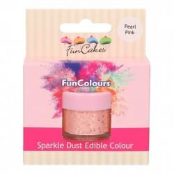 Rosa, sparkle-pulverfärg (Pearl Pink - FC)