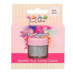 Dark Silver, sparkle-pulverfärg (FC)