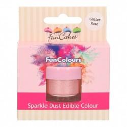 Rosa, sparkle-pulverfärg (Glitter Rose - FC)