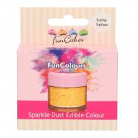 BF 20210228 - Gul, sparkle-pulverfärg (Sunny Yellow - FC)