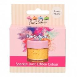 Sunny Yelllow, sparkle-pulverfärg (FC)