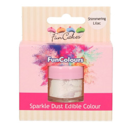 BF 20210731 - Lila, sparkle-pulverfärg (Shimmering Lilac - FC)