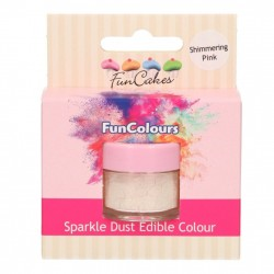 Shimmering Pink, sparkle-pulverfärg (FC)