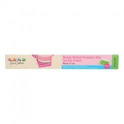 Tårtlock - Sugarpaste m vaniljsmak (grön)