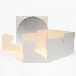 Tårtbricka o kartong, ca 25 cm (FC)