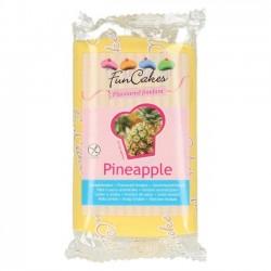 Sockerpasta, gul 250g (ananas)