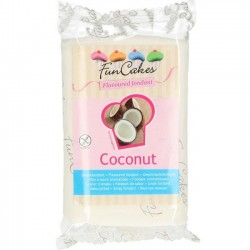 Sockerpasta, vit 250g (kokos)