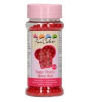 BF 20200430 - Röda sockerpärlor, 4 mm (Red)