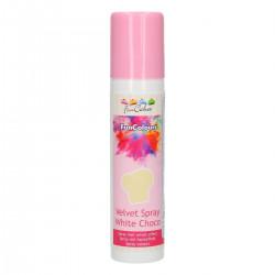 Velvet Spray, vit (White Choco - FC)