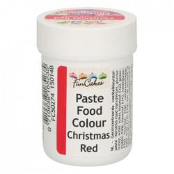 Röd pastafärg på burk (Christmas Red - FC)