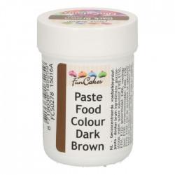 Brun pastafärg på burk (Dark Brown - FC)