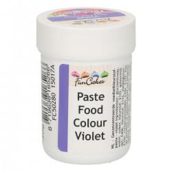 Lila pastafärg på burk (Violet - FC)