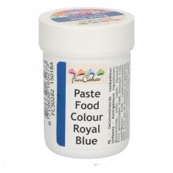 Blå pastafärg på burk (Royal Blue - FC)