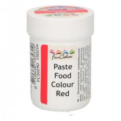 Röd pastafärg på burk (Red - FC)