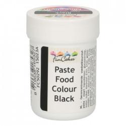 Svart pastafärg på burk (Black - FC)