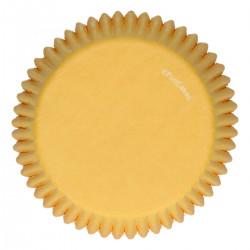 Gula muffinsformar, 48 st (Yellow)