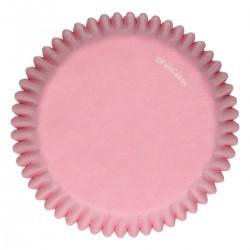 Rosa muffinsformar, 48 st (Light Pink)