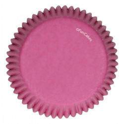 Rosa muffinsformar, 48 st (Pink)