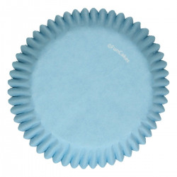 Blå muffinsformar, 48 st (Light Blue)