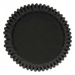 Svarta muffinsformar, 48 st