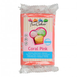 Sockerpasta m vaniljsmak, rosa 250g (Carol PInk)
