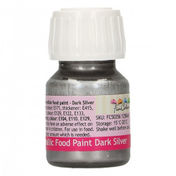 Flytande färg, silver (Dark Silver - FC)