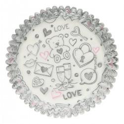 Love, 48 st muffinsformar