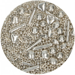 Silver, 65g strösselmix
