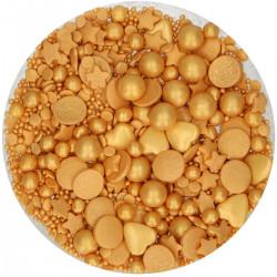 Guld, 65g strösselmix