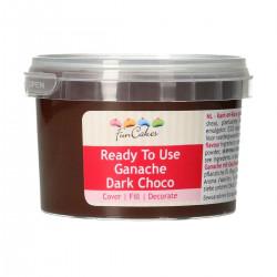 Ganache, 260g mörk choklad
