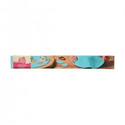 Tårtlock - Sockerpasta m vaniljsmak (babyblå)