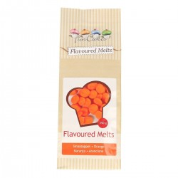 Flavoured Melts, orange med apelsinsmak 250g