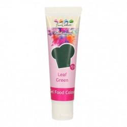 Grön pastafärg på tub (Leaf Green - FC)